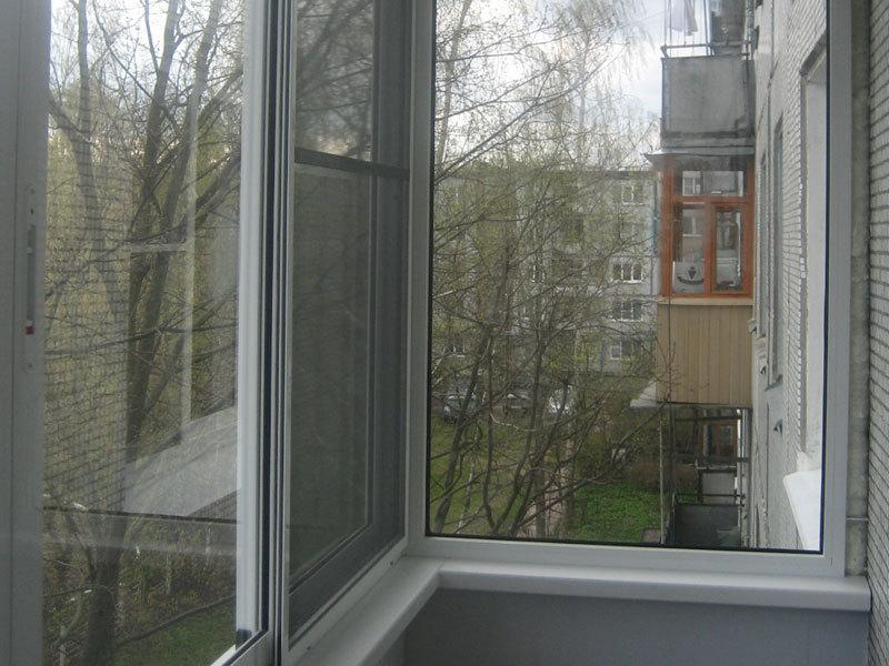 Алюминиевый профиль окна витражи